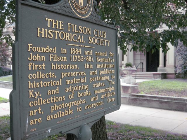 Dec. 10th , Patrick Lewis, PhD, Filson Historical Society