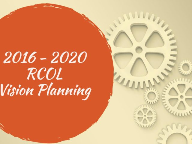 2016 RCOL Vision Planning