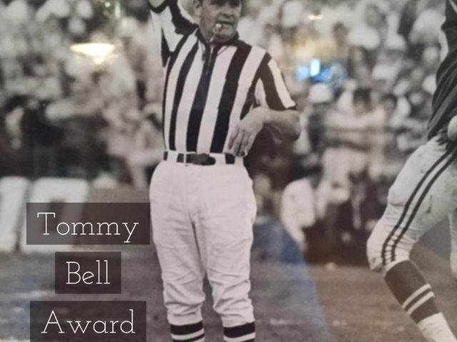 Tommy Bell Award 2016