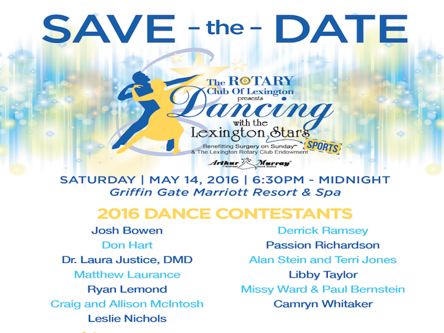 Dancing with the Lexington Stars 2016!